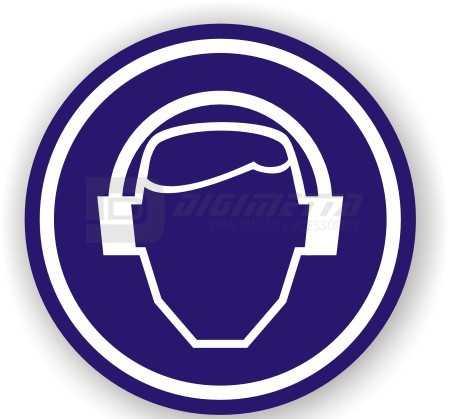 Etiquetas Adesivas em Vinil - Use Protetor Auricular