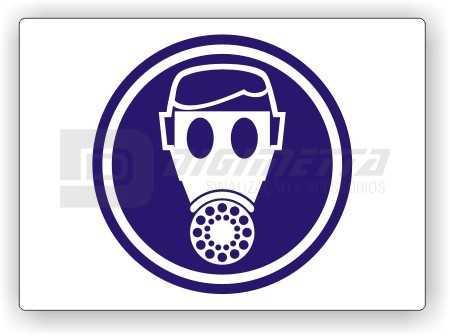 Placa: Comando - Use Máscara de Respiração