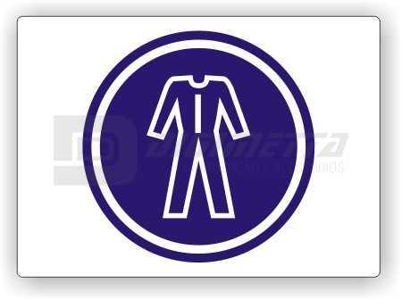 Placa: Comando - Use Roupas Especiais