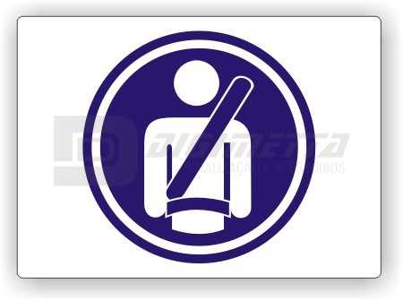 Placa: Comando - Use Cinto de Segurança