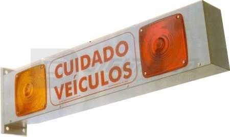 Sinalizador de Garagem - Luminoso e Sonoro